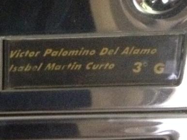 VICTOR PALOMINO DEL ALAMO/ISABEL MARTIN CURTO