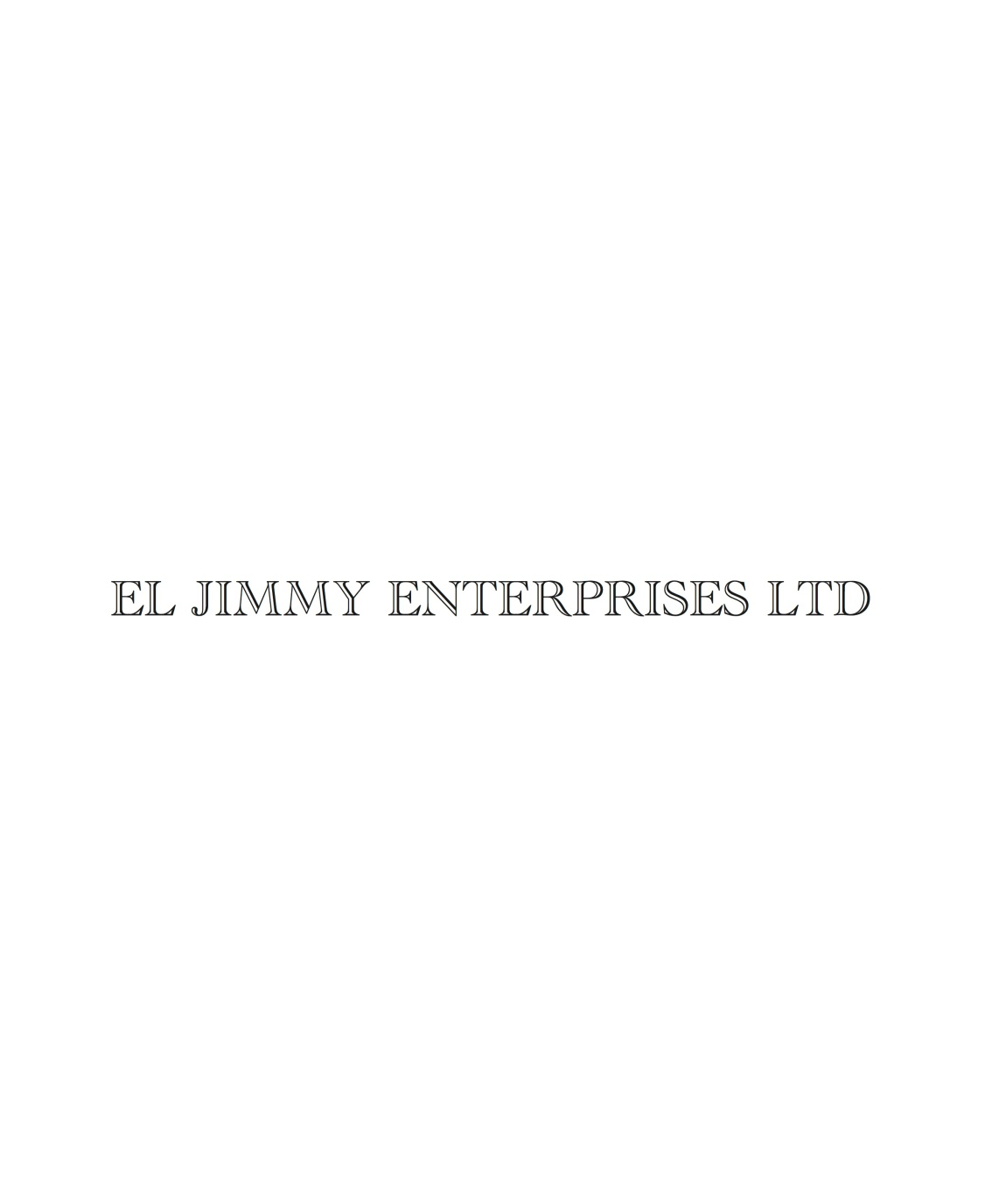 EL JIMMY E LTD